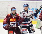 Jan Piskáček, Rastislav Dej - Generali play off, 1. předkolo, Po 11.3.2019, HC VÍTKOVICE RIDEARA - HC Sparta Praha. Foto: Petr Kotala