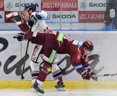 Lukáš Kucsera, Jaroslav Hlinka - Generali play off, 2. předkolo, Út 12.3.2019, HC VÍTKOVICE RIDEARA - HC Sparta Praha. Foto: Petr Kotala