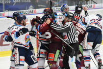 Generali play off, 2. předkolo, Út 12.3.2019, HC VÍTKOVICE RIDEARA - HC Sparta Praha. Foto: Petr Kotala