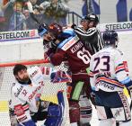 Josef Hrabal, Lukáš Klimek - Generali play off, 2. předkolo, Út 12.3.2019, HC VÍTKOVICE RIDEARA - HC Sparta Praha. Foto: Petr Kotala