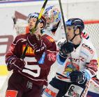 Tomáš Pavelka, Lukáš Kucsera - Generali play off, 2. předkolo, Út 12.3.2019, HC VÍTKOVICE RIDEARA - HC Sparta Praha. Foto: Petr Kotala