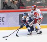 Jan Štencel a Vladimír Dravecký - 46. kolo Tipsport Extraligy HC Oceláři Třinec - HC VÍTKOVICE RIDERA, 16. února 2020 v Třinci.