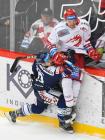 Jozef Baláž a Jan Zahradníček - 20. kolo Tipsport Extraligy HC Oceláři Třinec - HC VÍTKOVICE RIDERA , 21. listopadu 2019 v Třinci.