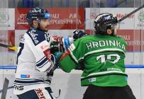 Rastislav Dej a František Hrdinka - 49. kolo HC VÍTKOVICE RIDERA - BK Mladá Boleslav, 28. února 2020 v Ostravě.