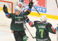 38. kolo HC VÍTKOVICE RIDERA - HC Energie Karlovy Vary, 19. ledna 2020 v Ostravě.