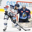 Rastislav Dej a Denis Godla - 17. kolo Tipsport Extraligy HC VÍTKOVICE RIDERA - Rytíři Kladno, 3. listopadu 2019 v Ostravě.