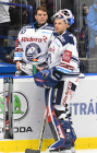 Daniel Dolejš a Miroslav Svoboda - 17. kolo Tipsport Extraligy HC VÍTKOVICE RIDERA - Rytíři Kladno, 3. listopadu 2019 v Ostravě.