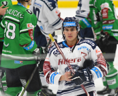 Tomáš Guman - 23. kolo Tipsport Extraligy HC VÍTKOVICE RIDERA - BK Mladá Boleslav, 28. listopadu 2019 v Ostravě.