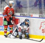 Radoslav Tybor a Rastislav Dej - 19. kolo Tipsport Extraligy HC VÍTKOVICE RIDERA - HC DYNAMO PARDUBICE, 17. listopadu 2019 v Ostravě.