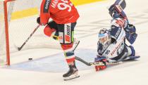 Jan Mandát a Miroslav Svoboda - 19. kolo Tipsport Extraligy HC VÍTKOVICE RIDERA - HC DYNAMO PARDUBICE, 17. listopadu 2019 v Ostravě.