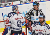 Daniel Dolejš a Rudolf Tošenovjan - 22. kolo Tipsport Extraligy HC VÍTKOVICE RIDERA - HC Sparta Praha, 27. listopadu 2019 v Ostravě.