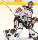 Blaž Gregorc a David Dvořáček - 22. kolo Tipsport Extraligy HC VÍTKOVICE RIDERA - HC Sparta Praha, 27. listopadu 2019 v Ostravě.