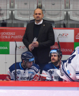 Trenér Vítkovic Miloš Holáň - 42. kolo Tipsport Extraligy HC Oceláři Třinec -  HC VÍTKOVICE RIDERA, 2. ledna 2021 v Třinci.