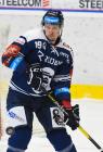Guntis Galvinš z Vítkovic - 33. kolo Tipsport Extraligy HC VÍTKOVICE RIDERA - BK Mladá Boleslav, 8. ledna 2021 v Ostravě.