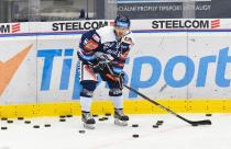 Jozef Baláž z Vítkovic - 26. kolo Tipsport Extraligy HC VÍTKOVICE RIDERA - Bílí Tygři Liberec, 5. ledna 2021 v Ostravě.
