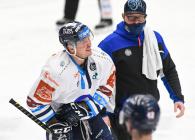 Lukáš Derner z Liberce - 26. kolo Tipsport Extraligy HC VÍTKOVICE RIDERA - Bílí Tygři Liberec, 5. ledna 2021 v Ostravě.