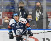 Marek Kalus z Vítkovic - 27. kolo Tipsport Extraligy HC VÍTKOVICE RIDERA - HC Litvínov, 13. prosince 2020 v Ostravě.
