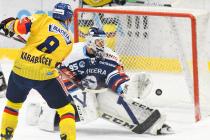 Václav Karabáček z Madety - 19. kolo Tipsport Extraligy HC VÍTKOVICE RIDERA - MADETA MOTOR České Budějovice, 20. listopadu 2020 v Ostravě.