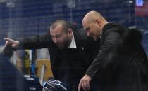 Asistent trenéra Vítkovic Roman Šimíček -  41. kolo Tipsport Extraligy HC VÍTKOVICE RIDERA - Mountfield HK, 31. ledna 2021 v Ostravě.