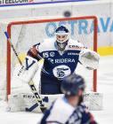 Brankář Miroslav Svoboda z Vítkovic - 38. kolo Tipsport Extraligy HC VÍTKOVICE RIDERA - HC Olomouc, 22. ledna 2021 v Ostravě.