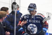 Lukáš Kovář z Vítkovic - 35. kolo Tipsport Extraligy HC VÍTKOVICE RIDERA - HC ŠKODA PLZEŇ, 15. ledna 2021 v Ostravě.