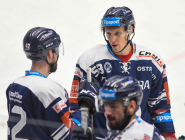 Guntis Galvinš z Vítkovic - 35. kolo Tipsport Extraligy HC VÍTKOVICE RIDERA - HC ŠKODA PLZEŇ, 15. ledna 2021 v Ostravě.
