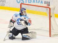 Brankář Plzně Dominik Pavlát - 35. kolo Tipsport Extraligy HC VÍTKOVICE RIDERA - HC ŠKODA PLZEŇ, 15. ledna 2021 v Ostravě.