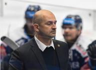 Trenér Vítkovic Miloš Holáň - 35. kolo Tipsport Extraligy HC VÍTKOVICE RIDERA - HC ŠKODA PLZEŇ, 15. ledna 2021 v Ostravě.