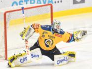 Brankář Libor Kašík ze Zlína - 36. kolo Tipsport Extraligy HC VÍTKOVICE RIDERA - PSG Berani Zlín, 17. ledna 2021 v Ostravě.