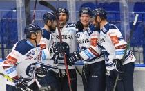 HC VÍTKOVICE RIDERA - HC Olomouc, Letní hokejové hry 2021, 24. srpna 2021 v Ostravě.