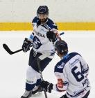 Rastislav Dej a Patrik Koch z Vítkovic - HC VÍTKOVICE RIDERA - HC Dukla Trenčín, Přípravné utkání, 31. srpna 2021 v Ostravě.
