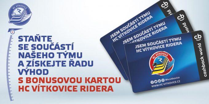Bonusova Karta HC Vítkovice Ridera