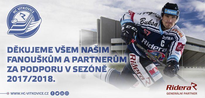 Hc Vitkovice Ridera - Konec Sezony