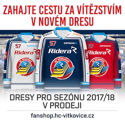 Fanshop HCV - Dresy v prodeji