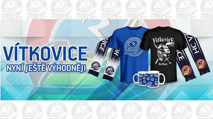 e80fea65f6da Modrobílá síla se valí 90. rokem Vítkovic. Fanshop vás vybaví! - HC  VÍTKOVICE RIDERA